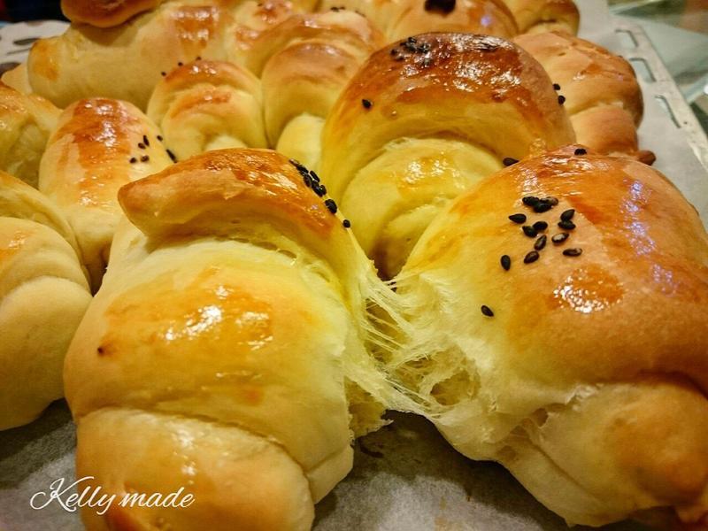 牽絲の奶油麵包卷~零失敗