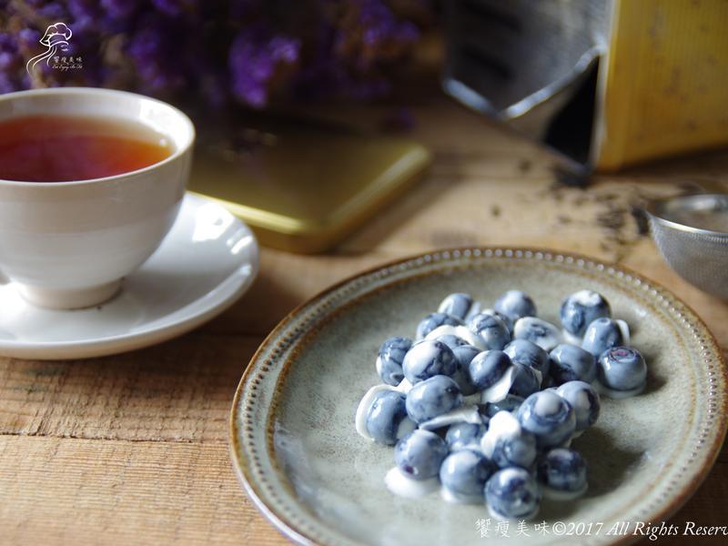 饗瘦美味-藍莓優格球