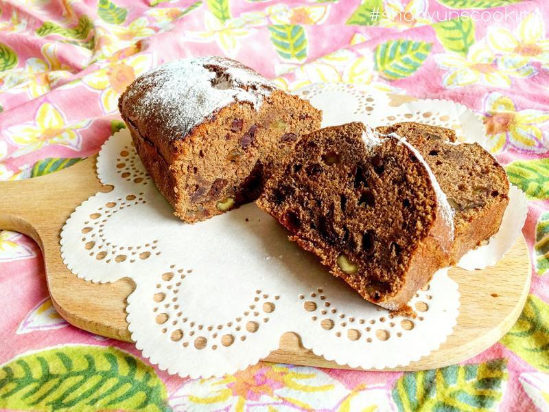 雙倍特濃巧克力磅蛋糕(少油少糖無泡打粉)