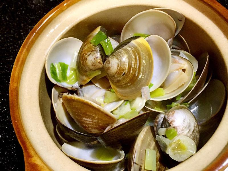 【居酒屋料理】酒蒸蛤蜊