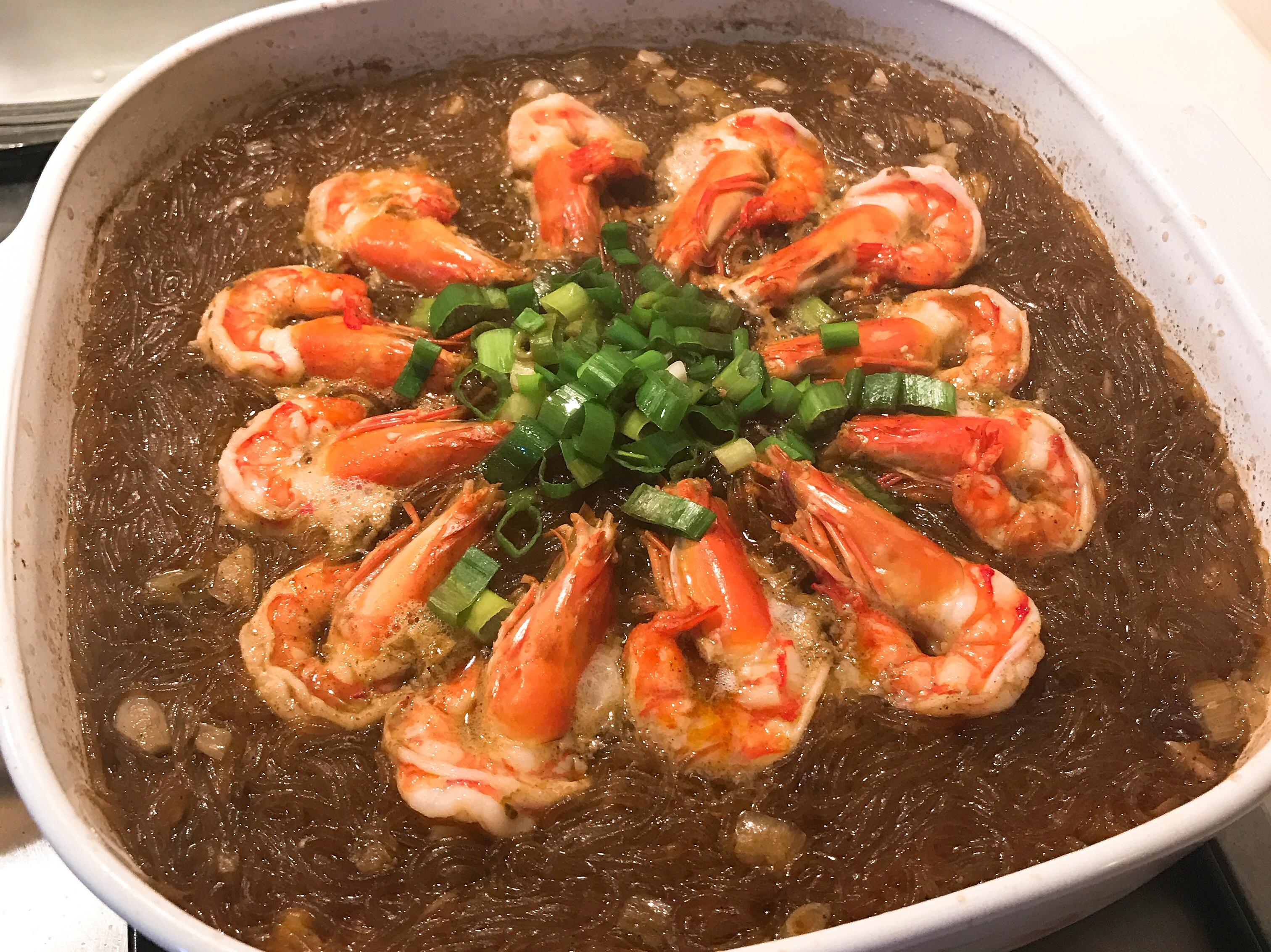 艾叻沙鮮蝦粉絲煲