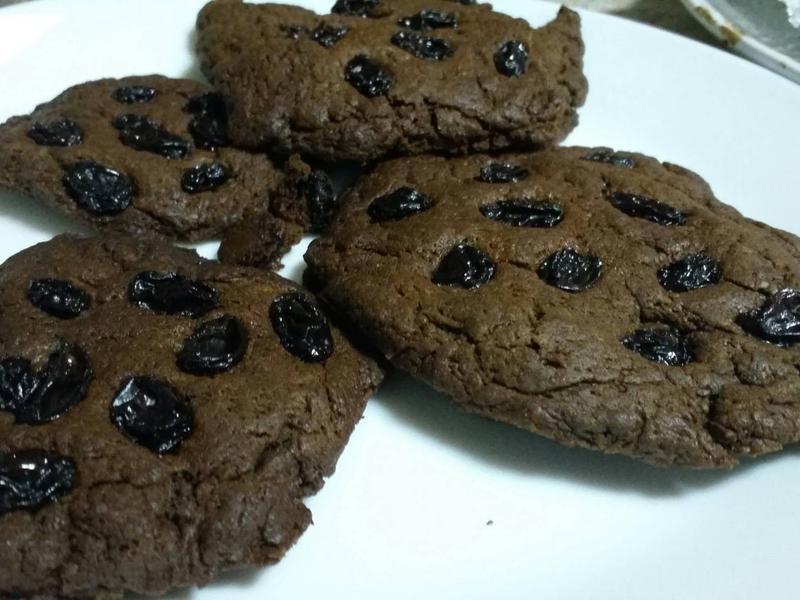 親子手作美式葡萄巧克力餅乾~一次上手