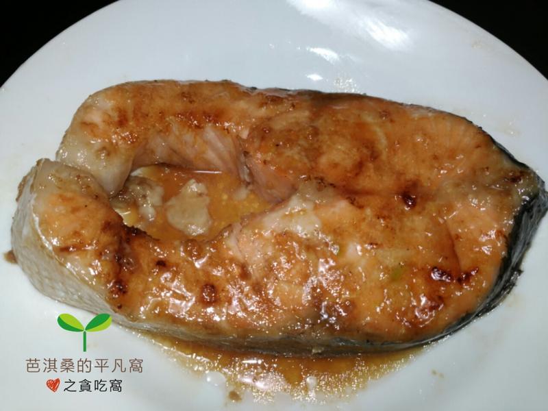 蒜蓉照燒醬烤鮭魚.烤箱準備快速開飯不慌張