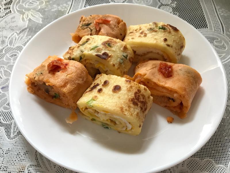 韓式泡菜煎餅 泡菜蛋餅