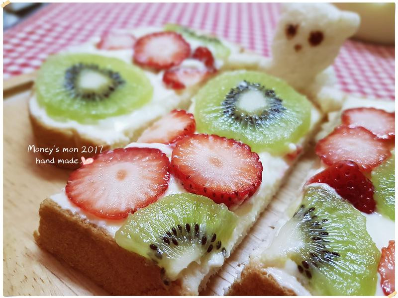 情人節二款草莓三明治