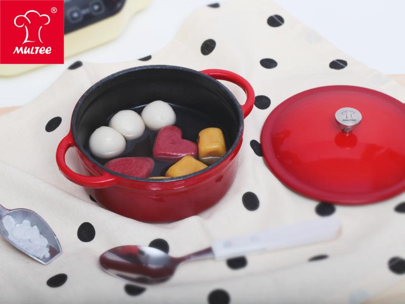【摩堤 鑄鐵鍋料理】可愛造型湯圓