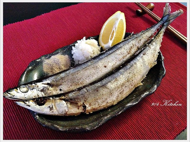 【深夜食堂】鹽烤秋刀魚