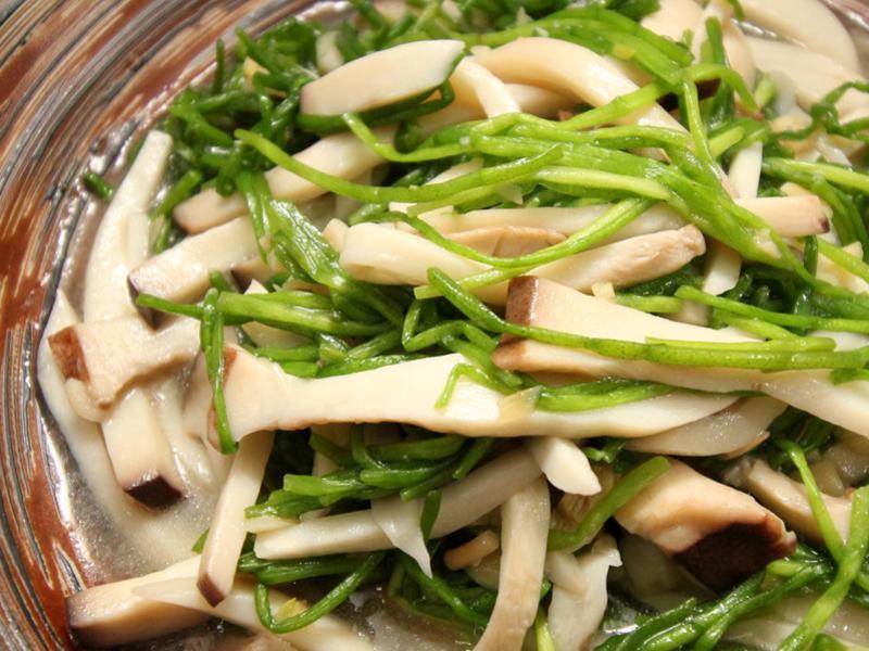 【厚生廚房】水蓮炒菇菇