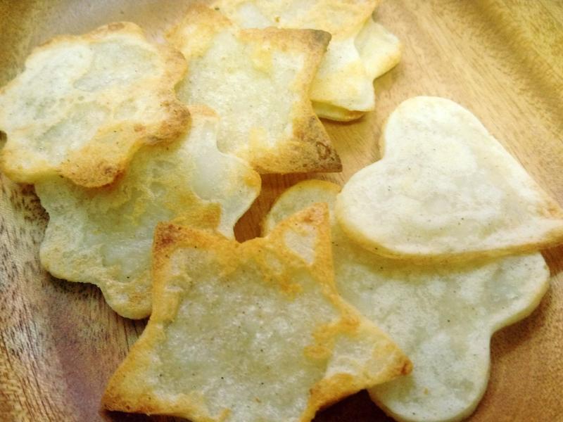孩子健康零嘴-香酥脆口蒜味洋芋片