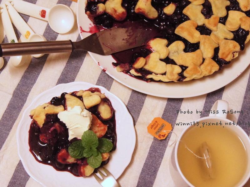 暖心藍莓派