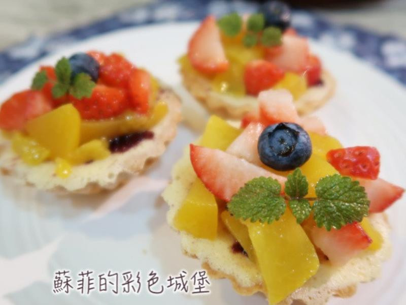 水果蔓越梅乳酪塔