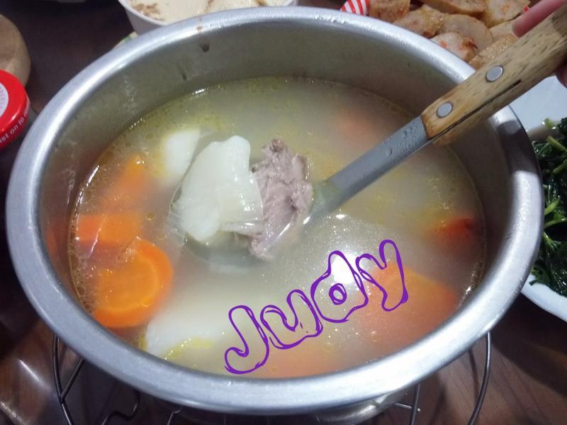 蘿蔔馬鈴薯湯