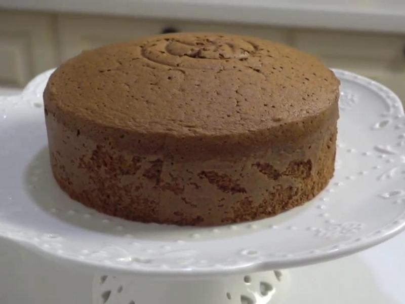 巧克力海綿蛋糕全蛋打法(含影音連結)