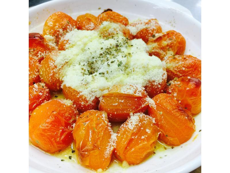 義大利帕馬森烤橙蜜小番茄