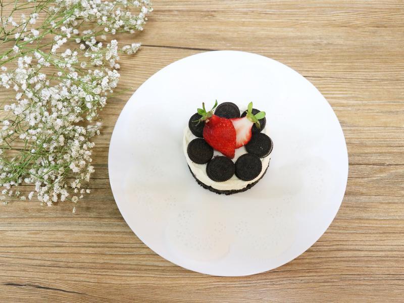|甜點|免烤OREO起司蛋糕