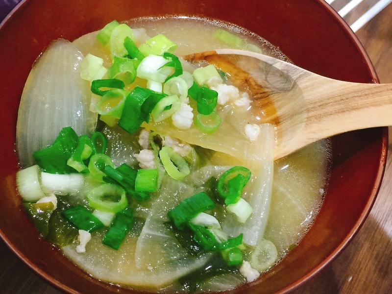 豬肉蘿蔔味增湯