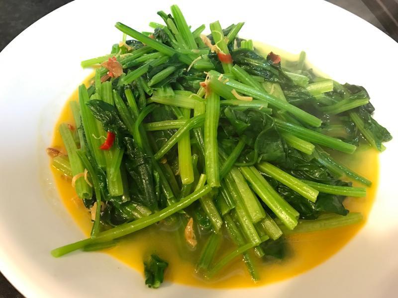 XO干貝醬炒菠菜