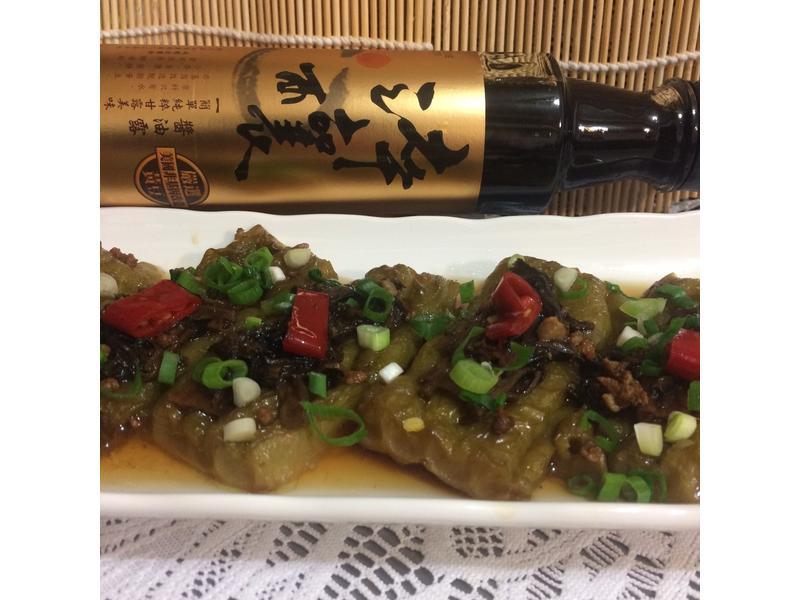 油燜福菜肉末苦瓜【淬釀阿嬤的手路菜】