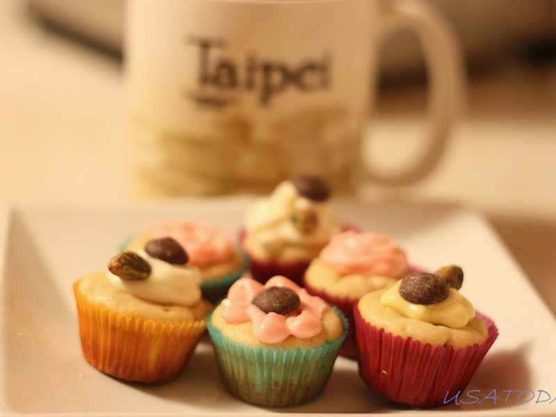 【甜牙齒】芳香難忘的香蕉杯子蛋糕 Banana cupcake with cream cheese