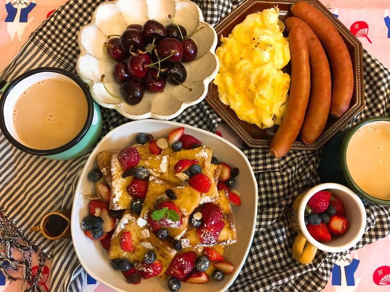 豐盛早午餐自己來!超簡單柔軟滑嫩美式炒蛋