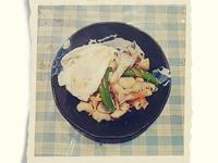 蔬菜雞肉義大利麵