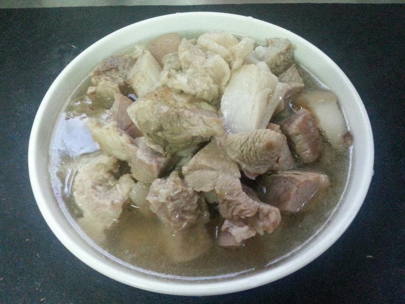 拜拜用豬肉版的清燉滷肉