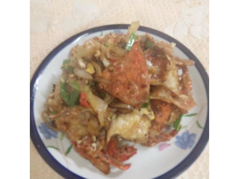 辣螃蟹滑蛋 [ 淬釀手路菜]