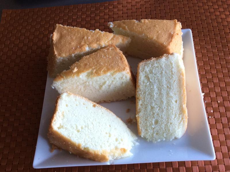 戚風蛋糕(椰子油版)