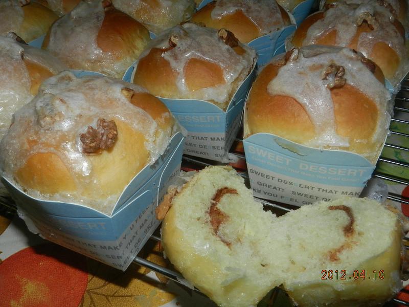 ㄚ曼達的廚房~肉桂麵包捲