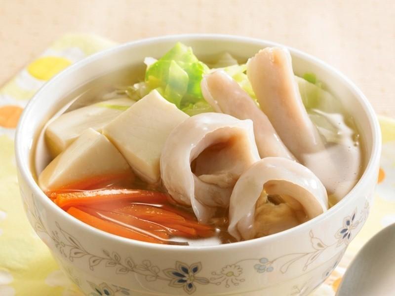 豆腐海鮮湯
