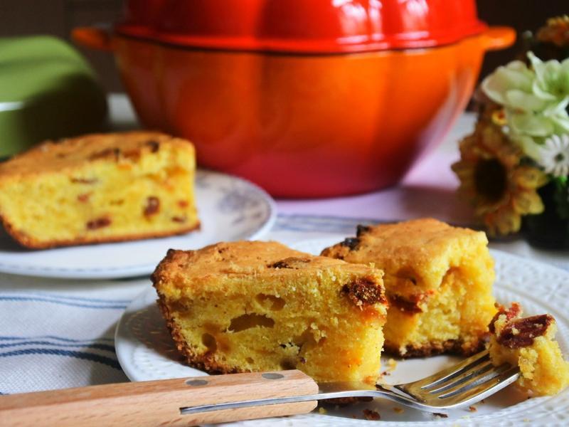 南瓜枸杞磅蛋糕