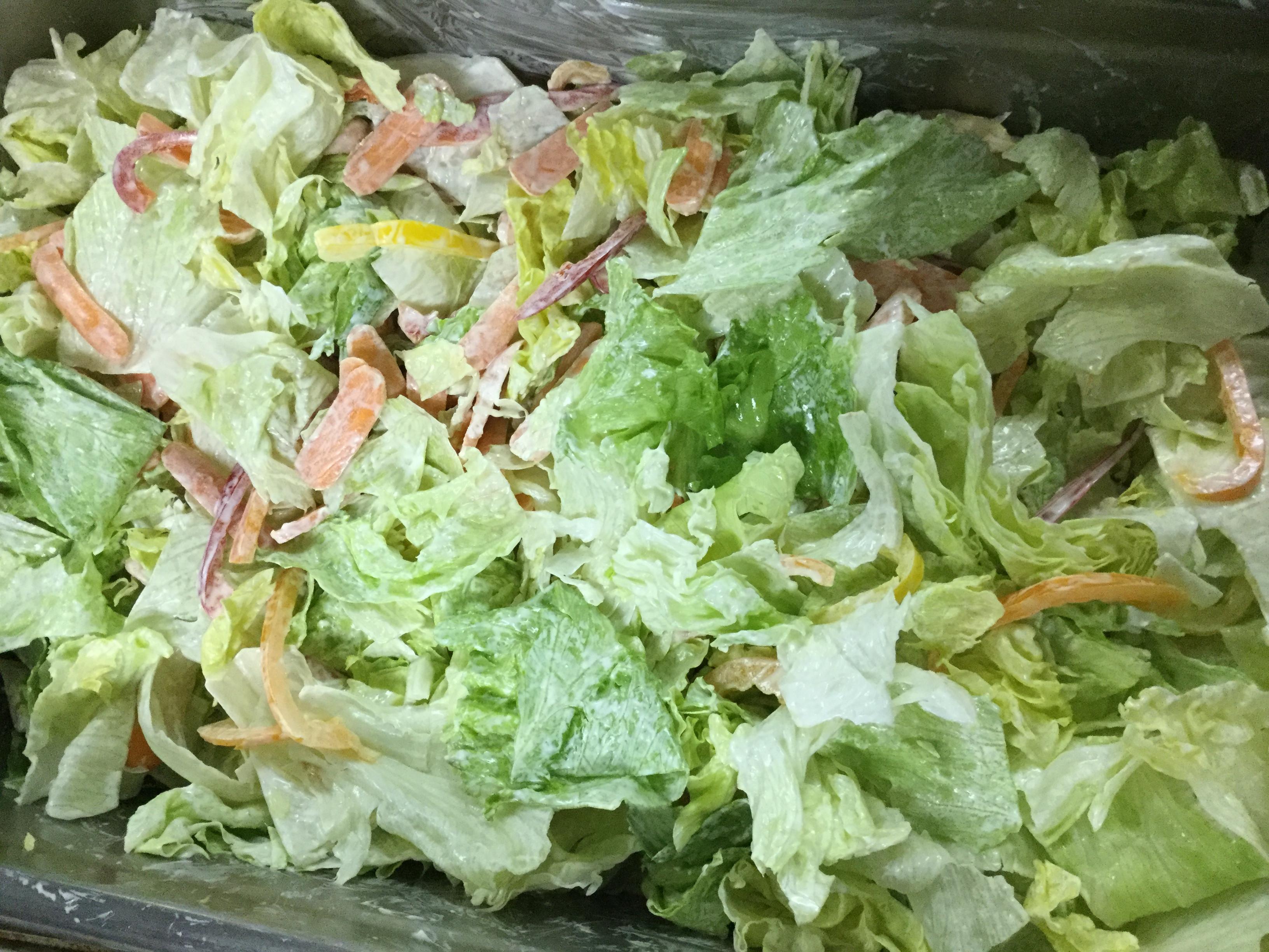 素菜-生菜沙拉