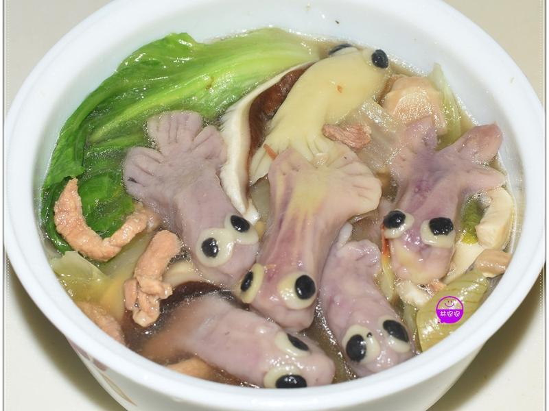 魚造型家常麵