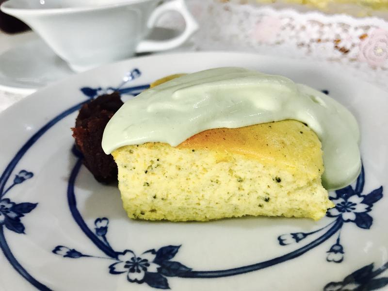 抹茶舒芙蕾起司蛋糕