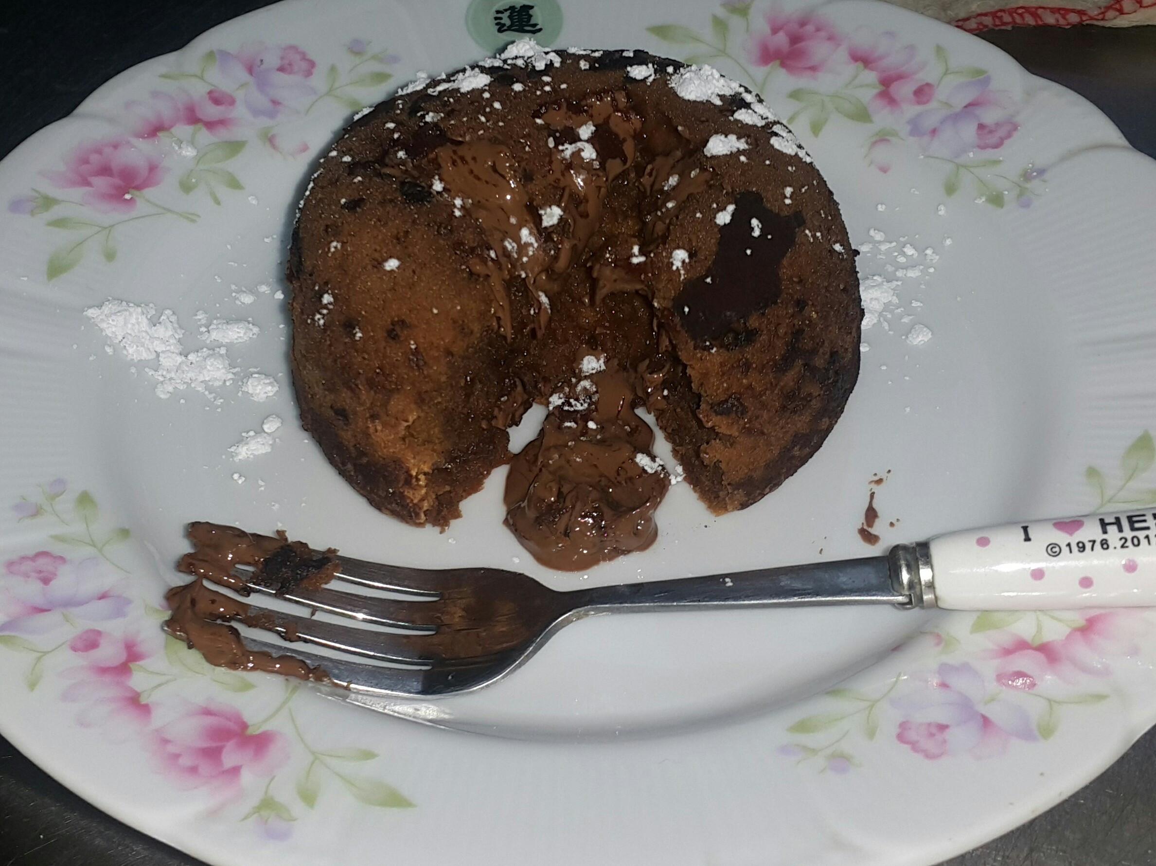情人節首選~熔岩巧克力蛋糕😍