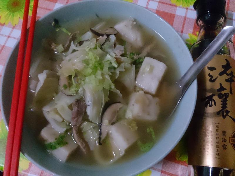 懷念的鹹粿湯【淬釀手路菜】