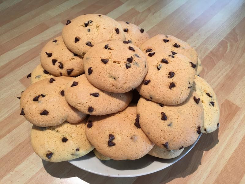簡單上手的巧克力餅乾
