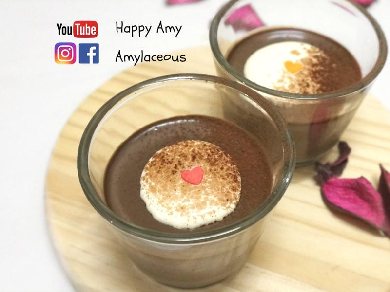 【情人節】簡易巧克力慕斯食譜