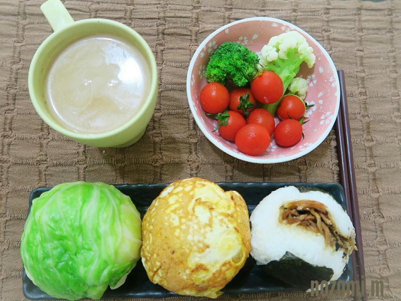 【省時料理】日式高麗菜飯糰