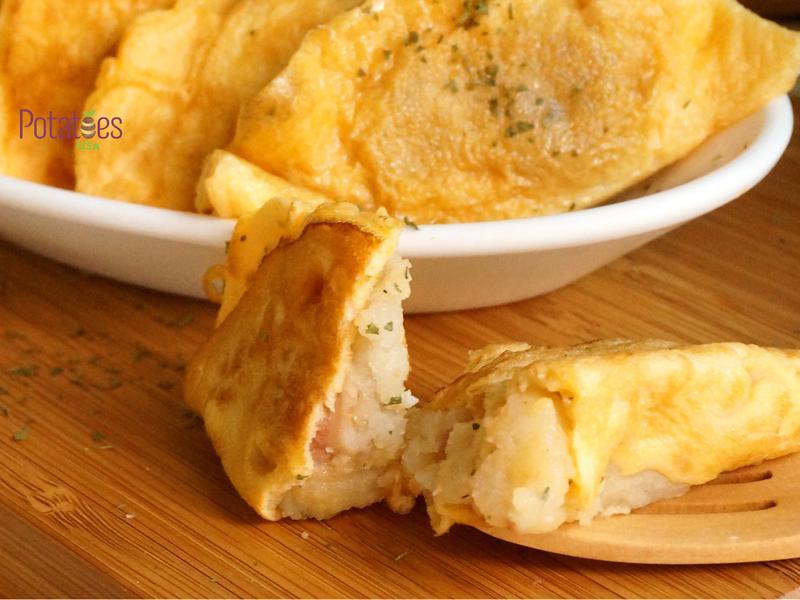 美國馬鈴薯-香料美國薯泥蛋餃