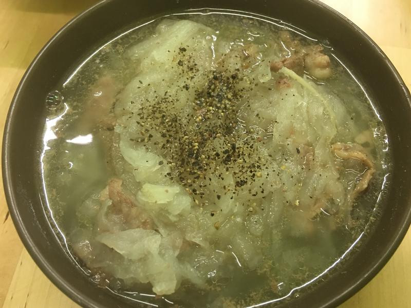 [生酮]白蘿蔔羊肉羹