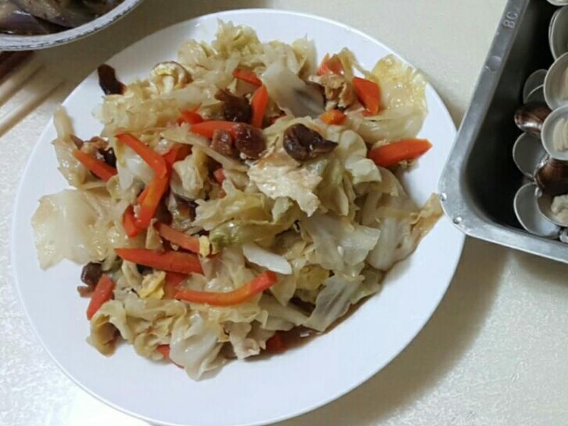 麻油桂圓高麗菜