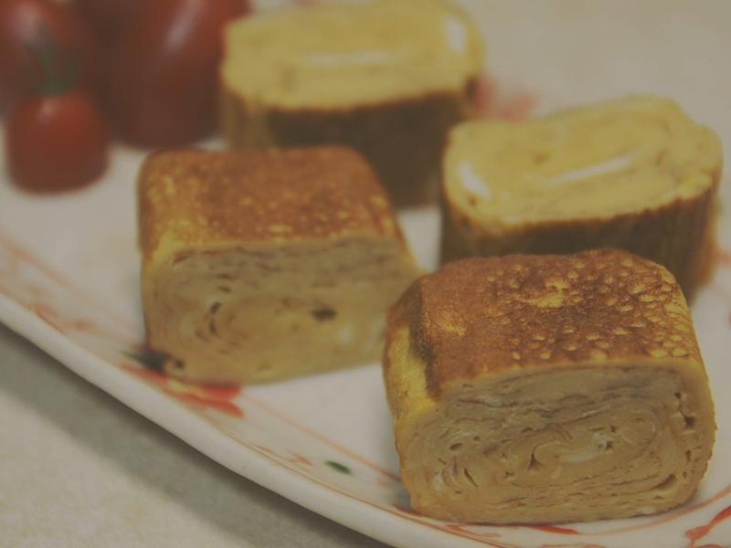 高湯玉子燒.二種煎玉子燒的方式