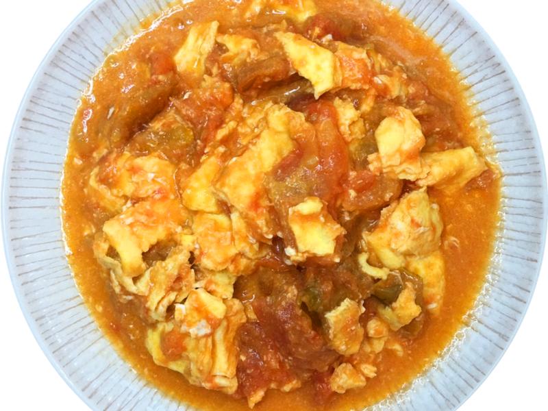 番茄炒蛋(濃稠版)