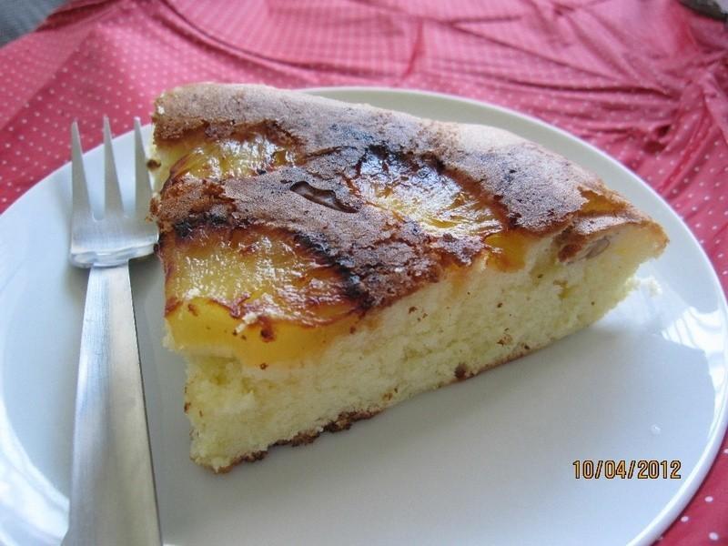 焦糖鳯梨蛋糕