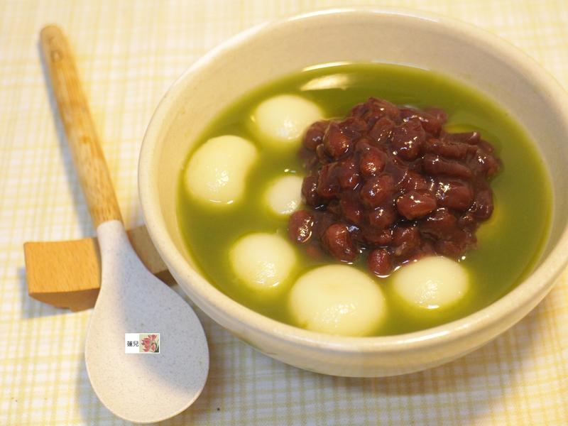 抹茶紅豆湯圓