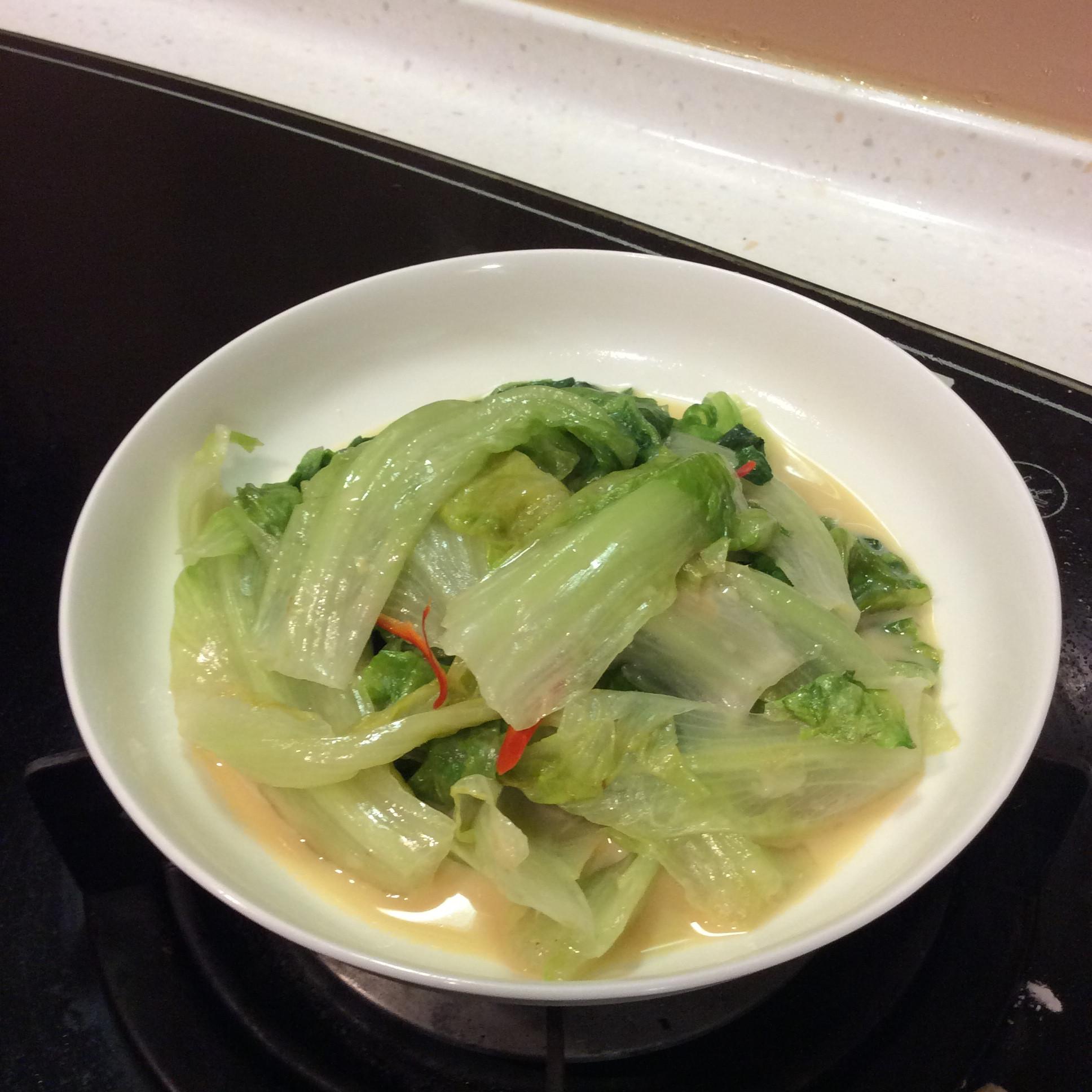 椒絲腐乳生菜