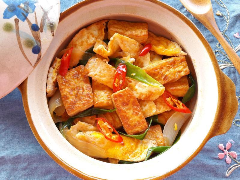 醬燒荷包蛋豆腐【淬釀手路菜】