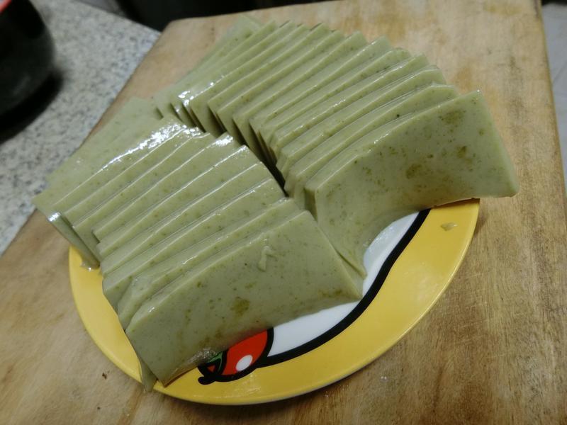 豆奶抹茶凍
