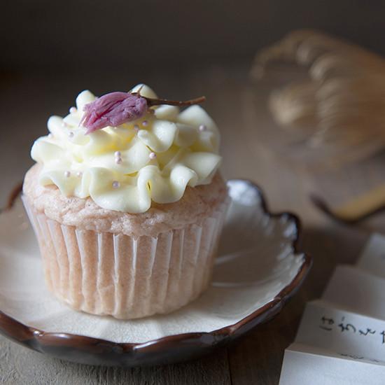 【Tomiz小食堂】櫻花煉乳杯子蛋糕